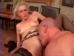 German guy fucks his new boss