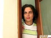 Peek MILF at the shower