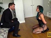 Inked seductress Alexxa Vice submits to rough anal pounding
