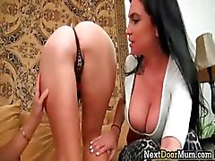 Amazing lesbian 3some with super