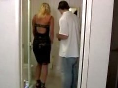 Gorgeous Housewife Fucks The Plumber