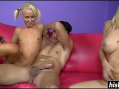 Mom and daughter get plowed hard