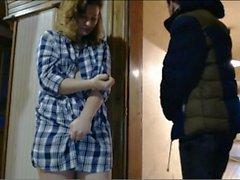 public nudity with neighbor, flashing and vibrator