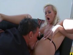 Great Anal Riding By Busty Blonde MILF