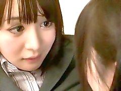 Asian Schoolgirl Makes Teacher Lesbian Pet Part 11