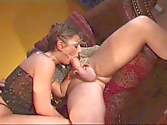 Hot and horny milf asks her stepsons to impale her
