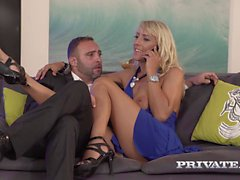 Milf Lana Vegas Stars in an Anal Threesome