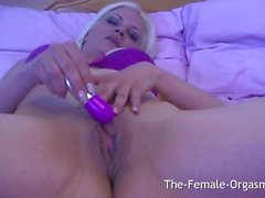 British MILF Sarah McCream Masturbates To A Pulsating Pussy Climax