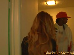 Busty mature pounded rough by big black cocks