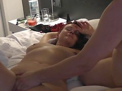 Me and my lover - hubby was filming and wanking