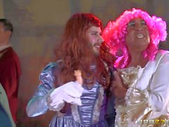 Cinderella xxx parody with Cathy Heaven and Rebecca Moore