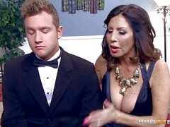 Naughty MILF Tara Holiday fucks the toyboy groom