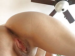 Wife fingering pussy and ass