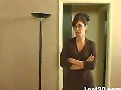 Milf Sarah plays with her husbands friend