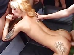 Horny milf gets her pussy nailed