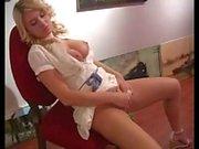 Alison Angel masturbating in public