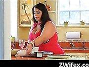 Kinky Wife Amateur Pussy Plugged Hard