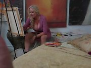 Kelly Madison Gives Blowjob