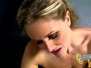 Julia Ann teasing handjob
