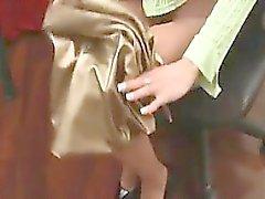MILF Fingering While Wearing Pantyhose