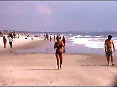 hot milf beach voyeur jiggly jugs 12