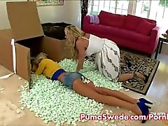 Puma Swede in Girl on Girl Strapon Fun!