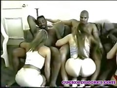 Cuckold sercrets gangbang party Sissy watch BBC fuck wives