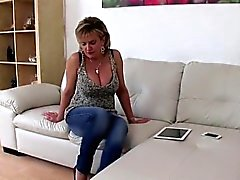 Unfaithful british mature gill ellis presents her huge titti