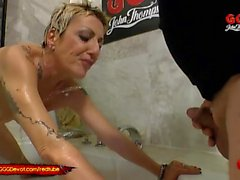 Mature Mother loves piss from younger Cocks - GGG Devot