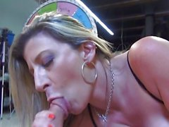 Big titted MILF gets the most of a cock