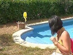 Amanda X Big Tits DP Milf