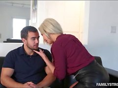 Big boobs milf pounded by her stepson