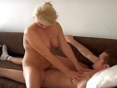Amateur wife rides hard cock