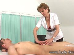 Big Tits MILF Tantric Massage Hand Job