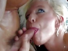 German Milf picked up for naughty car sex