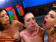 Piss and Cum for Three Super Hot Sluts - GGG Devot