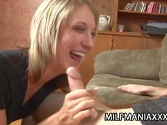 Amy Brooke - Beautiful Blonde Milf Fucked From Behind