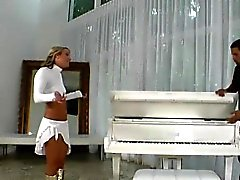 Piano delivery man will stay