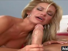 Milf with big boobs likes getting pounded