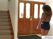 Spizoo - Liv Revamped and her step mother Jessica Jaymes fuck a big dick