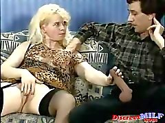 Slutty German MILF fucked in the ass