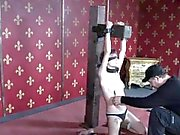 Subdued sub skank mercilessly punished