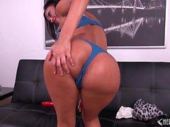 Ethnic milf with fabulous big breasts Priya Rai makes herself cum hard