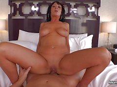 Latin milf loves to fuck
