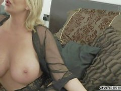 """LEIGH DARBY IN """" MY FRENCH STEPSON"""" full scene."""