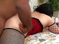 Fat ass ebony gets her cunt eaten before fuck sesion