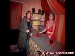 Velvet Swingers Club private gangbang party in Europe