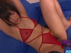 Satomi Ichihara, obedient milf, gets fucked on cam