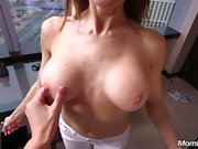 Middle Eastern Amateur Cougar Fuck POV