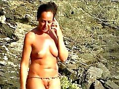 Curvy Hot Milfs Nude At The Beach Spycam HD Voyeur Video